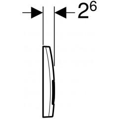 AKCE/SET - SET KOMBIFIXBasic včetně ovládacího tlačítka DELTA 51 CR pro závěsné WC CERSANIT DELFI + SOFT SEDÁTKO (110.100.00.1 51CR DE2)