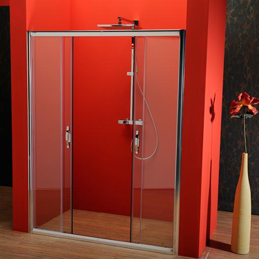 GELCO - SIGMA sprchové dveře posuvné 1500 mm, čiré sklo (SG1415)