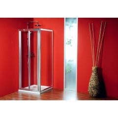 GELCO - SIGMA sprchové dveře skládací 900 mm, čiré sklo (SG1829)