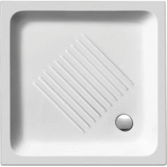 GSI - Keramická sprchová vanička, čtverec 90x90x12cm (439011)