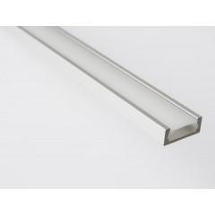 Sapho Led - LED U profil 15,2x6mm, eloxovaný hliník, 1m (KL1888-1)