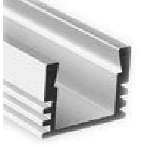 Sapho Led - LED U profil 16x12mm, eloxovaný hliník, 2m (KL1718-2)