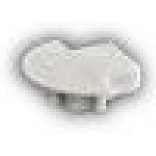 Sapho Led - Plastová záslepka profilu KL3775 s otvorem pro kabel (KL1448)