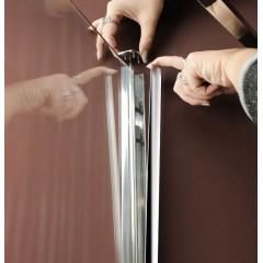 POLYSAN - VITRA LINE zástěna, obdélník 1100x700mm, pravá, čiré sklo (BN7315R)