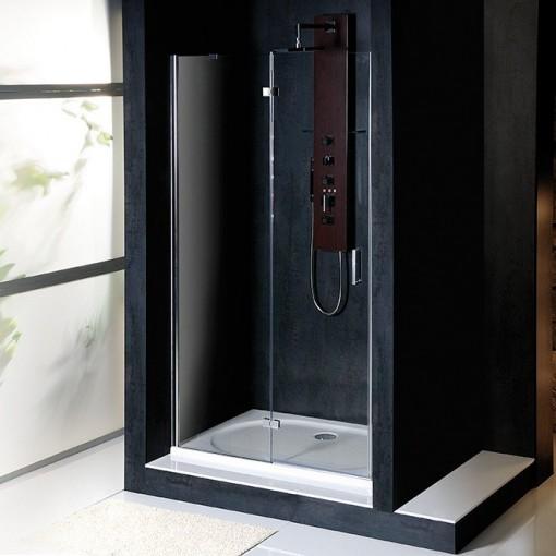 POLYSAN - VITRA LINE sprchové dveře 1100mm, levé, čiré sklo (BN3915L)