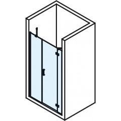 POLYSAN - VITRA LINE sprchové dveře 1200mm, pravé, čiré sklo (BN3015R)
