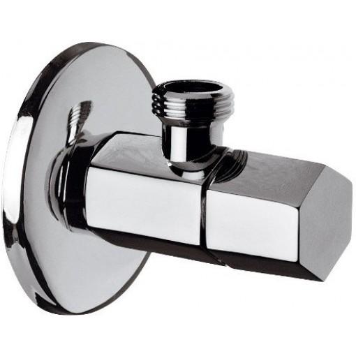 SAPHO - SPY rohový ventil s rozetou, 1/2'x 3/8' , chrom (PY58)