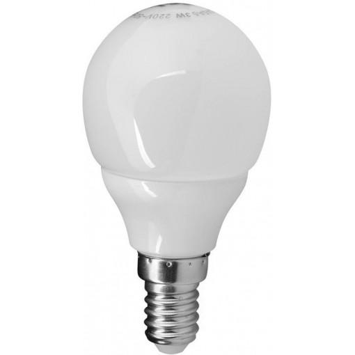 Sapho Led - LED žárovka 3W, E14, 230V, teplá bílá, 249lm (LDB262)