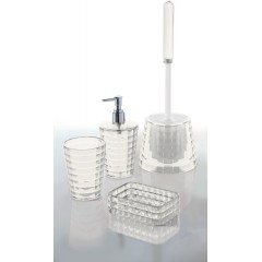 AQUALINE - GLADY WC štětka na postavení, čirá (GL3300)