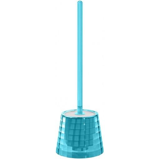 AQUALINE - GLADY WC štětka na postavení, tyrkysová (GL3392)