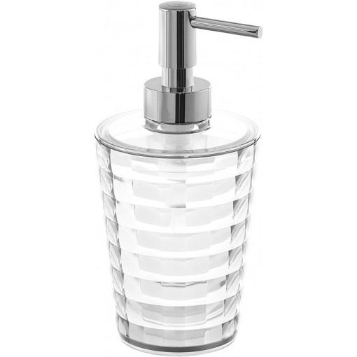 AQUALINE - GLADY dávkovač mýdla na postavení, čirá (GL8000)
