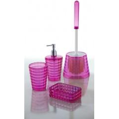 AQUALINE - GLADY dávkovač mýdla na postavení, růžová (GL8076)