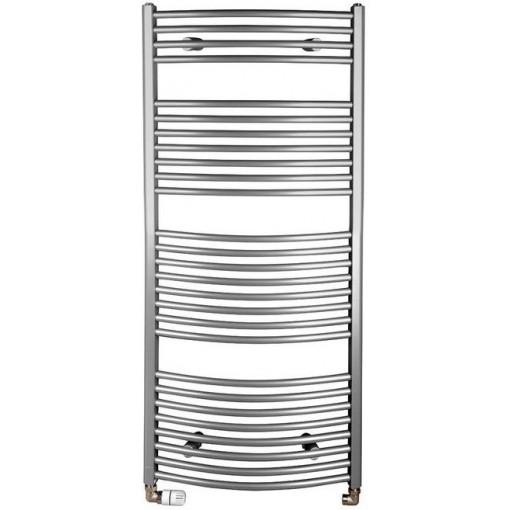 AQUALINE - ORBIT otopné těleso s bočním připojením 600x1330 mm, 708 W, stříbrná (ILA36)