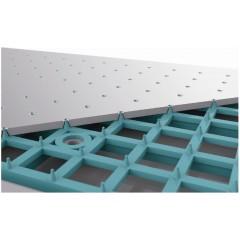 SAPHO - Hlavová sprcha se samočistícím systémem, 250x170mm, chrom (S2514)