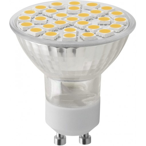 Sapho Led - LED bodová žárovka 8W, GU10, 230V, teplá bílá, 680lm (LDP810)