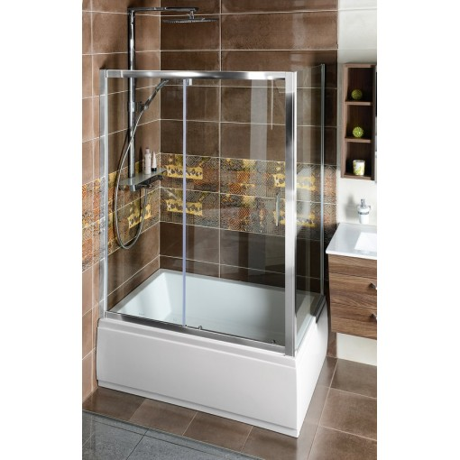 POLYSAN - Deep obdélníkový sprchový kout 1200x900mm L/P varianta, čiré sklo (MD1216MD3316)