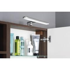 SAPHO - RIWA galerka s LED osvětlením, 50x70x17 cm, bezdotykový senzor, borovice rustik (RW055-S)