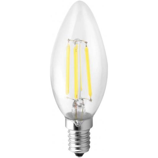 Sapho Led - LED žárovka Filament 4W, E14, 230V, denní bílá, 360lm (LDF144)