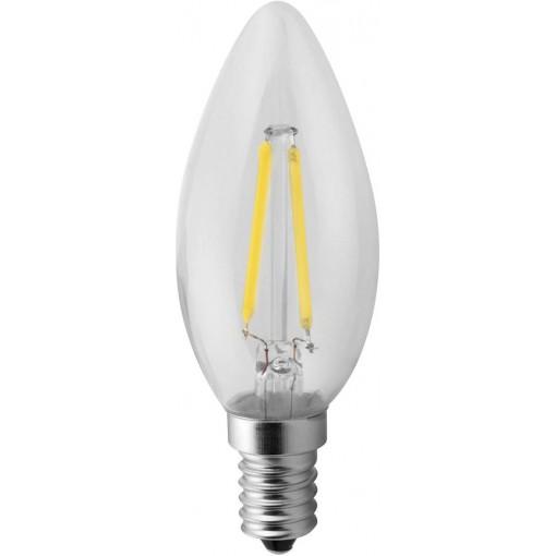 Sapho Led - LED žárovka Filament 2W, E14, 230V, denní bílá, 160lm (LDF142)
