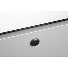 SAPHO - MIRRÓ galerka s LED osvětlením, 60x70x15cm, bezdotykový senzor, levá/pravá, stříbrná (RC065)
