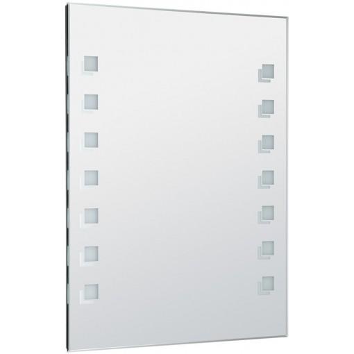 AQUALINE - LED podsvícené zrcadlo 60x80cm, kolíbkový vypínač (ATH56)