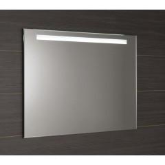 AQUALINE - LED podsvícené zrcadlo 100x80cm, kolíbkový vypínač (ATH54)