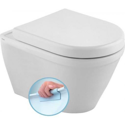 KALE - CLAUDIA WC závěsné 35,5x52cm, RIMLESS (71125364)