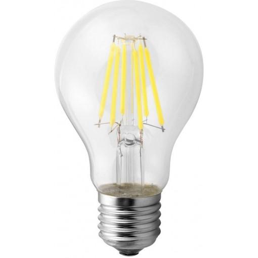 SAPHO - LED žárovka filament 4W, E27, 230V, teplá bílá, 500Lm (LDF294)