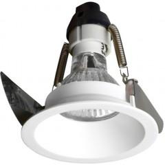 SAPHO - WICK podhledové hliníkové svítidlo 82 mm, GU10, max 35W, bílá mat (LDD493)