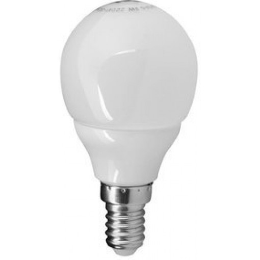 Sapho Led - LED žárovka 3W, E14, 230V, studená bílá, 200lm (LDB162)