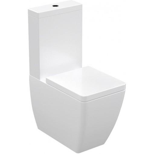 KERASAN - Kombi WC Ego,spodní/zadní odpad (WCSET07-EGO)