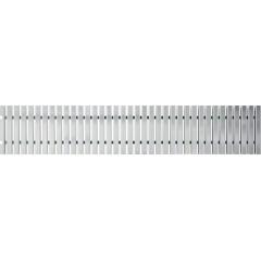 Alcaplast AP2- Přelivový rošt bez protiskluzu, výška 35mm, šířka, 295mm, délka 1000mm (AP2-295)