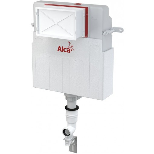 ALCAPLAST Basicmodul - WC nádrž pro zazdívání - určená pro toalety stojící na podlaze a toalety zabudovan AM112 (AM112)