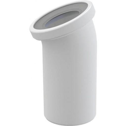 Alcaplast Dopojení k WC koleno 22° (A90-22)