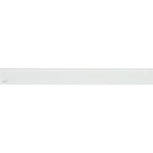Alcaplast GLASS Rošt pro liniový podlahový žlab sklo bílé (GL1200-850)