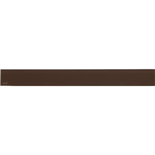 ALCAPLAST GLASS - Rošt pro liniový podlahový žlab (sklo hnědé) GL1203-1050 (GL1203-1050)