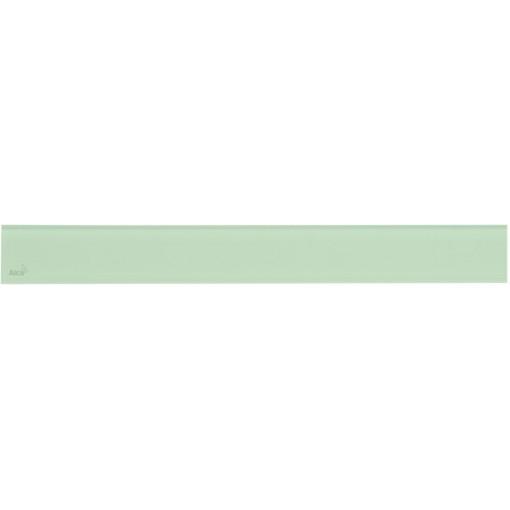 Alcaplast GLASS Rošt pro liniový podlahový žlab sklo zelené (GL1202-650)
