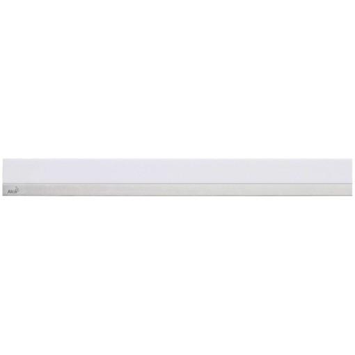 Alcaplast MINERAL POSH Rošt pro liniový podlahový žlab syntetický kámen bílý  nerez mat (MP1200-650)