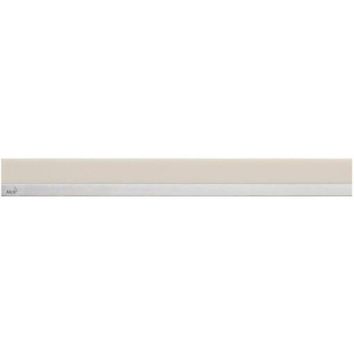 ALCAPLAST MINERAL POSH - Rošt pro liniový podlahový žlab (syntetický kámen pískový  nerez mat) MP1206-750 (MP1206-750)
