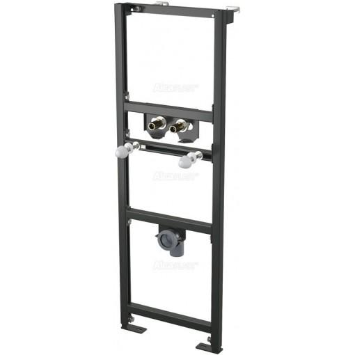 Montážní rám pro umyvadlo s vyvedením baterie ze zdi - stavební výška 1,2 m ALCAPLAST A104A/1200 (A104A/1200)