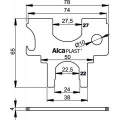 Alcaplast S036 universální klíč k vanič. a van.kov sifonům (S036)