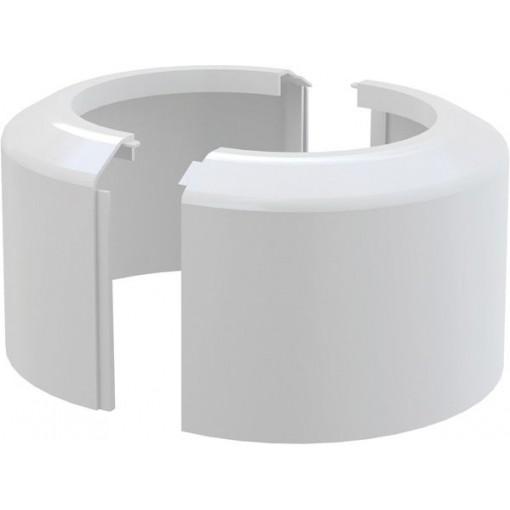Alcaplast WC rozeta velká DN110 dělená krycí růžice bílá (A980)