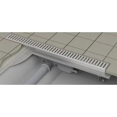 Alcaplast APZ101-850-LOW podlahový žlab výška 55mm SNÍŽENÝ kout min. 900mm (APZ101-850)