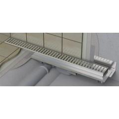 Alcaplast APZ104-950-LOW podlahový žlab ke zdi v.55mm SNÍŽENÝ min. 1000mm kout APZ104-950