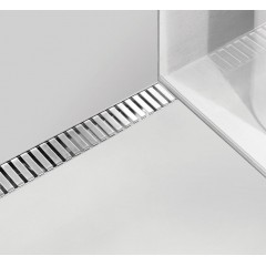 ALCAPLAST-APZ4-1050 podlahový žlab ke zdi(kout min.1100mm) (APZ4-1050)