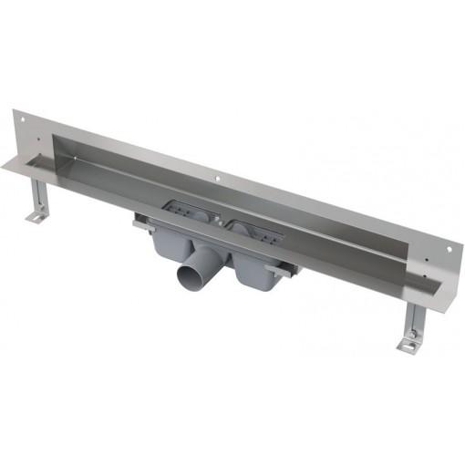 Alcaplast APZ5-TWIN-750 podlahový žlab do zdi-pro obkladkout min. 800mm SPA APZ5-TWIN-750