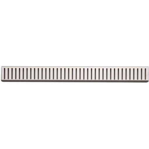 Alcaplast PURE-100M rošt podlahového žlabu matný 10cm doplněk roštu APZ1 (PURE-100M)
