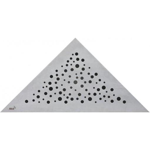 Alcaplast VIEW rošt podlahového rohového žlabu matný (VIEW)