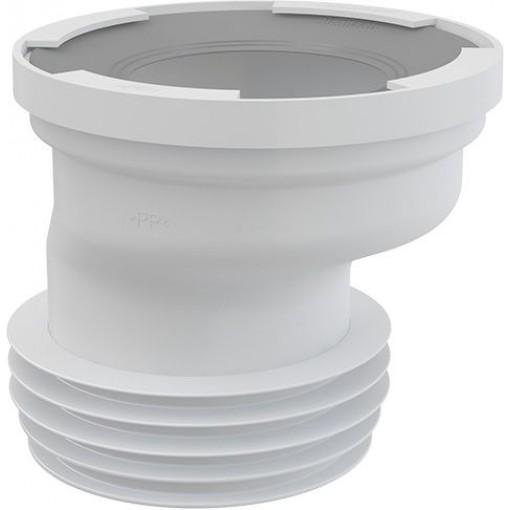 Dopojení k WC excentrické 20mm ALCAPLAST A991-20 (A991-20)