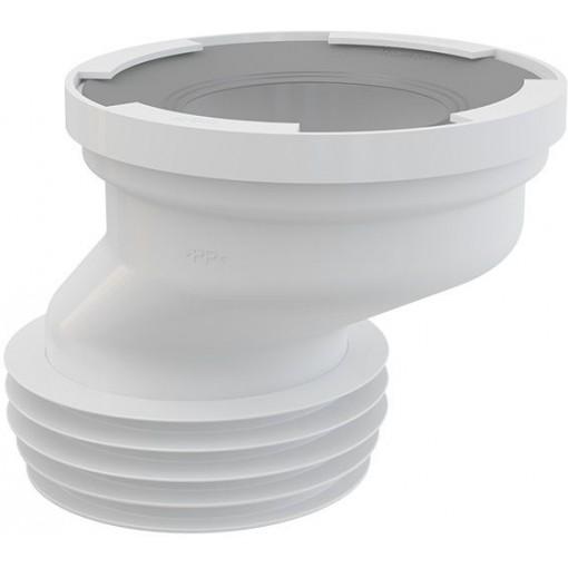 Dopojení k WC excentrické 40mm ALCAPLAST A991-40 (A991-40)